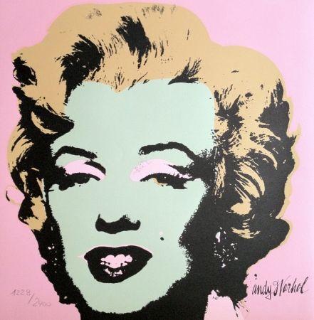 Litografia Warhol - Marylin Monroe