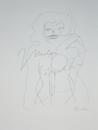 Litografia Lindner - Marylin Was Here 12