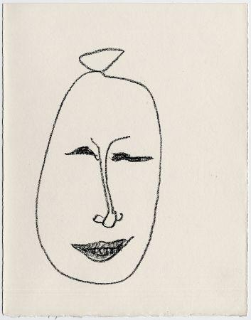 Litografia Matisse - Masque esquimau n° 9. 1947  (Pour Une Fête en Cimmérie)