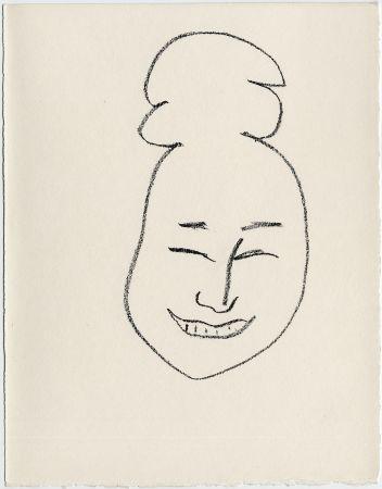 Litografia Matisse - Masque esquimo n° 4. 1947  (Pour Une Fête en Cimmérie)