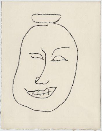 Litografia Matisse - Masque esquimo n° 8. 1947 (Pour Une Fête en Cimmérie)