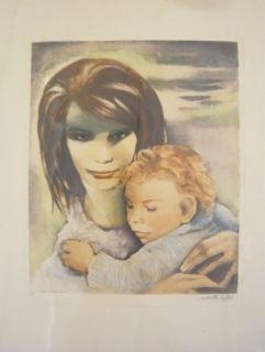 Incisione Lydis - Maternité