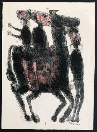 Litografia Dubuffet - Matiere et Memoire (ou les lithographes a l'ecole)