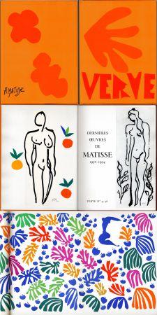 Libro Illustrato Matisse - Matisse dernières oeuvres 1950 - 1954 (VERVE Vol. IX, No. 35-36. 1958)