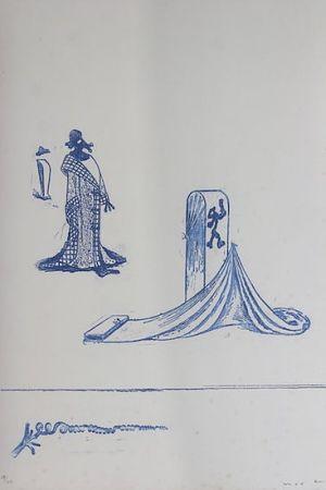 Litografia Ernst - Max Ernst (1891-1976). Décervelages, Jarry. 1971. Signé