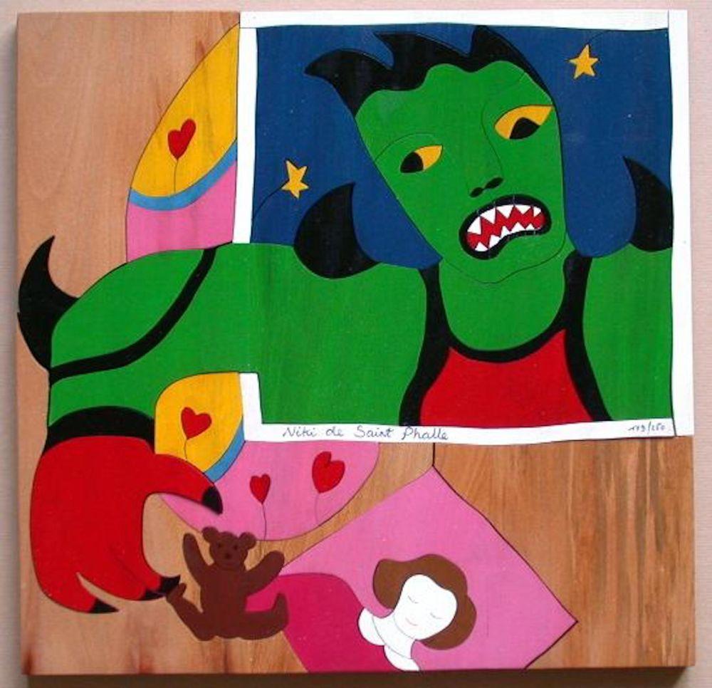 Non Tecnico De Saint Phalle - Mechant Mechant Puzzle