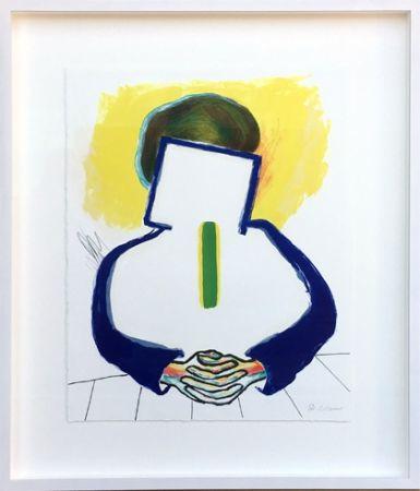 Litografia Raveel - Meditatie