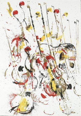 Serigrafia Arman - Melody for Strings III