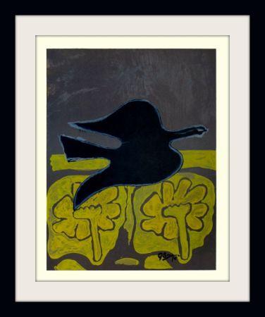 Litografia Braque - Menton