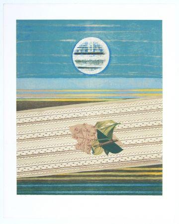 Litografia Ernst - Mer Et Soleil