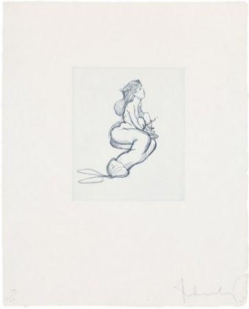 Incisione Oldenburg - Mermaid