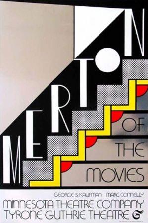 Serigrafia Lichtenstein - Merton Of The Movie Signed