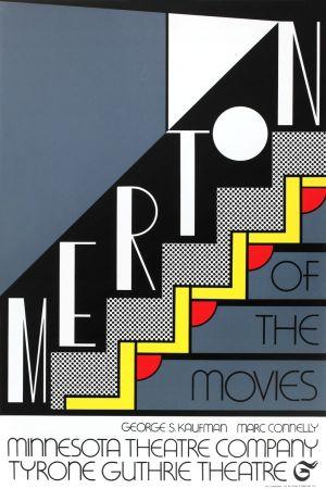 Serigrafia Lichtenstein - Merton of the Movies
