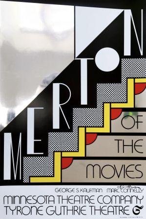 Serigrafia Lichtenstein - Merton Of The Movies Poster (Hand Signed)