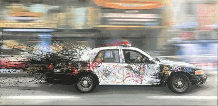 Non Tecnico Mr. Brainwash - Metro Polisa (Canvas)
