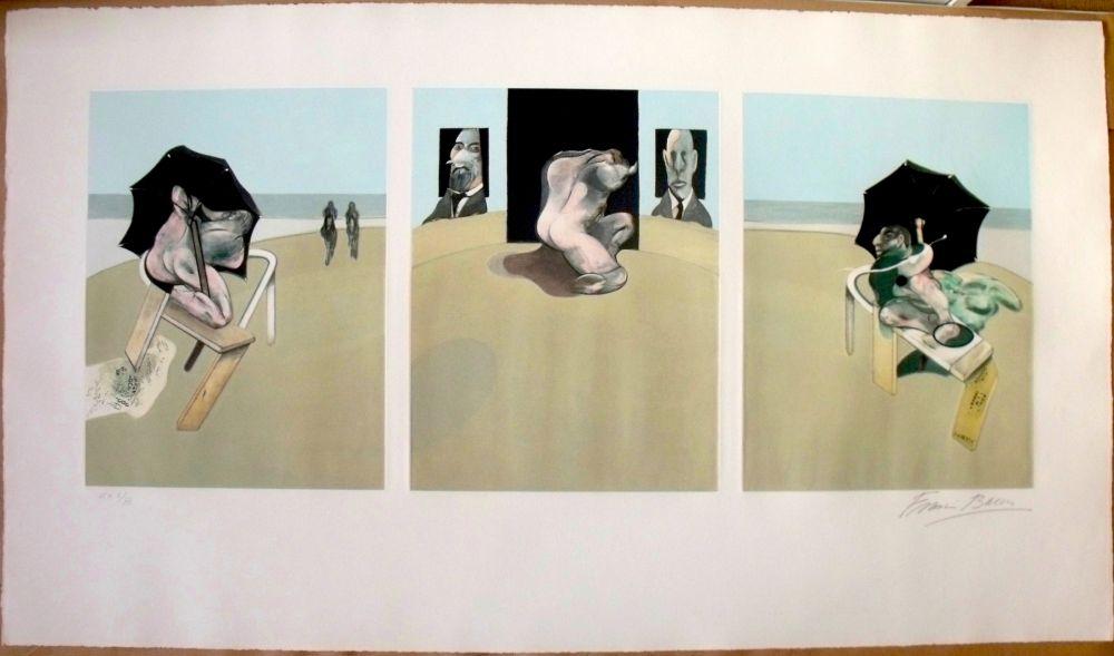 Acquaforte E Acquatinta Bacon - Metropolitan Triptych
