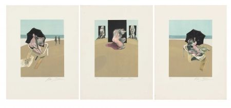 Incisione Bacon - Metropolitan Triptych (Large Version)