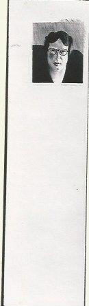 Litografia Hockney - Michael Crichton