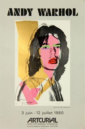 Serigrafia Warhol - Mick Jagger