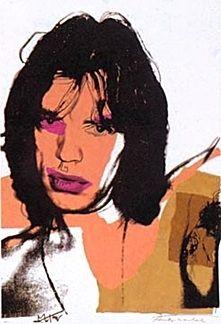 Litografia Warhol - Mick Jagger 11.141