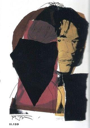 Litografia Warhol - Mick Jagger 11.142