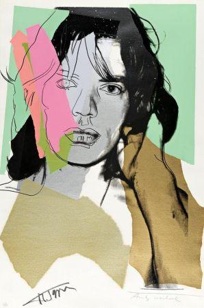 Serigrafia Warhol - Mick Jagger FS 11.140
