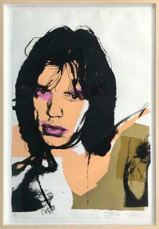 Serigrafia Warhol - MICK JAGGER FS II.141