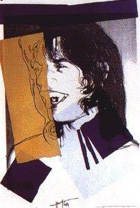 Serigrafia Warhol - Mick Jagger FS II.142