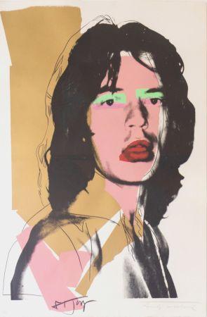 Serigrafia Warhol - Mick Jagger (FS II.143)