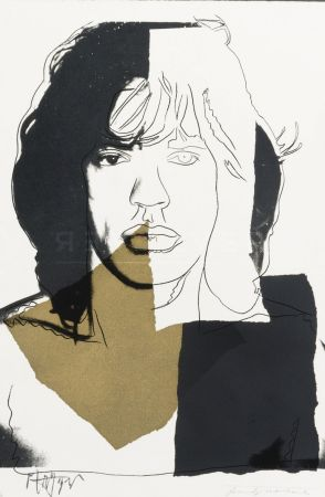 Serigrafia Warhol - Mick Jagger (FS II.146)