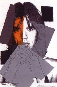 Serigrafia Warhol - Mick Jagger II.147