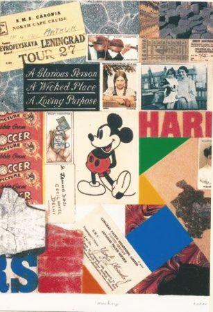 Serigrafia Blake - Mickey