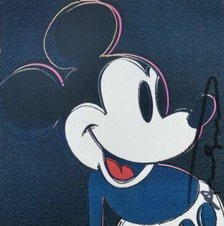 Serigrafia Warhol - Mickey Mouse