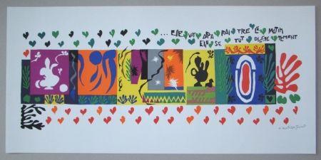 Litografia Matisse - Mille et une Nuits, 1950