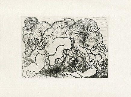 Acquaforte Picasso -