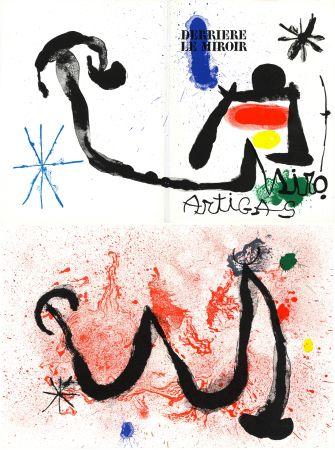 Litografia Miró - MIRO - ARTIGAS, Terres de grand feu. Derrière le Miroir n° 139-140. Juin-Juillet 1963.