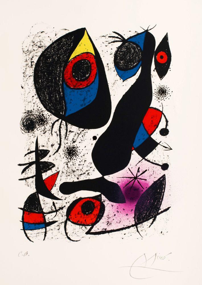 Litografia Miró -   Miro a L'Encre