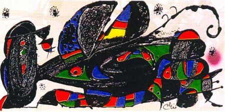 Litografia Miró - Miro Sculptor - Iran