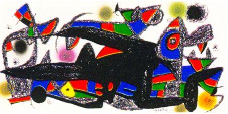 Litografia Miró -  Miro Sculptor -Denmark
