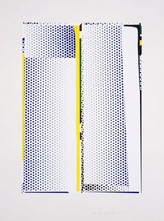 Serigrafia Lichtenstein - Mirror #9