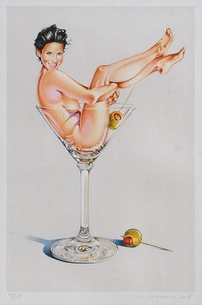 Litografia Ramos - Miss Martini II