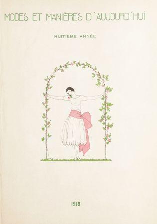 Libro Illustrato Marty - MODES ET MANIÈRES D'AUJOURD' HUI. Huitième Année. 1919
