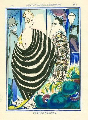 Libro Illustrato Bonfils - MODES ET MANIÈRES D'AUJOURD' HUI. Neuvième Année. 1920