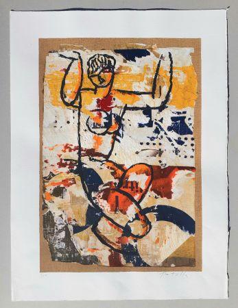 Serigrafia Rotella - Modigliani
