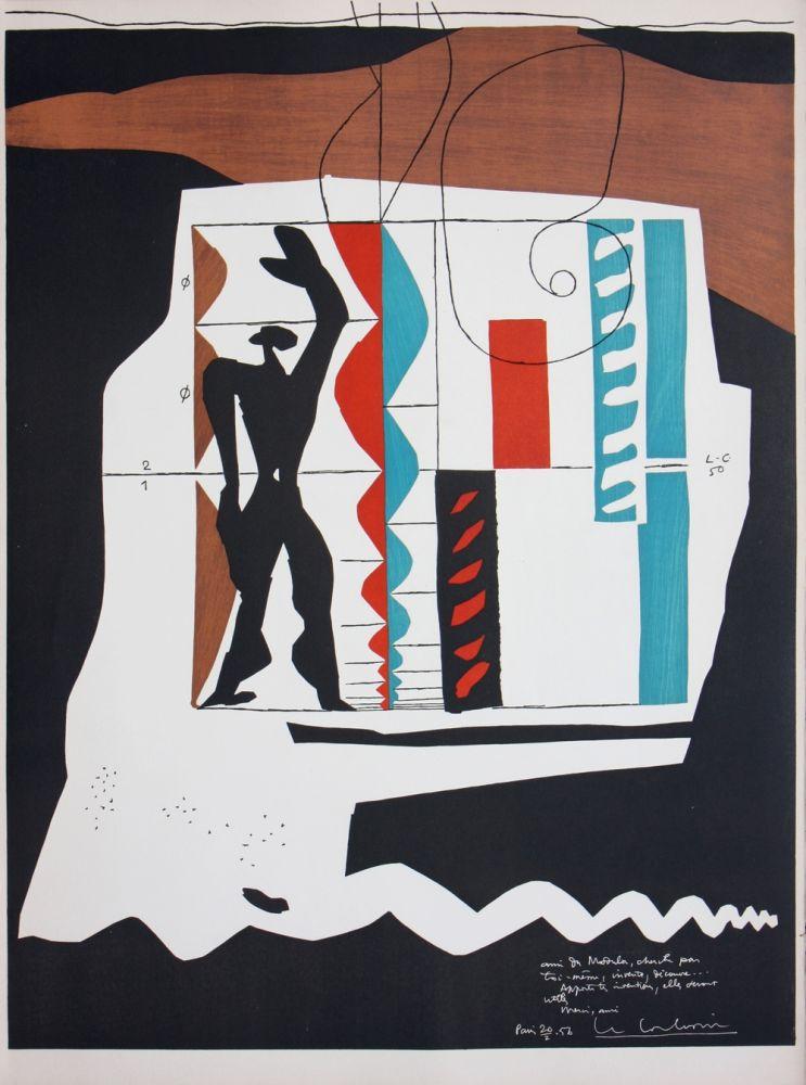 Litografia Le Corbusier - Modulor