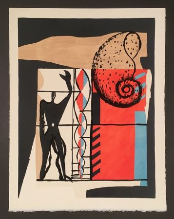 Litografia Le Corbusier - Modulor (1955)