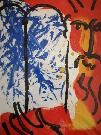 Litografia Chagall - Moise