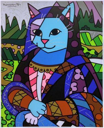 Serigrafia Britto - MONA CAT
