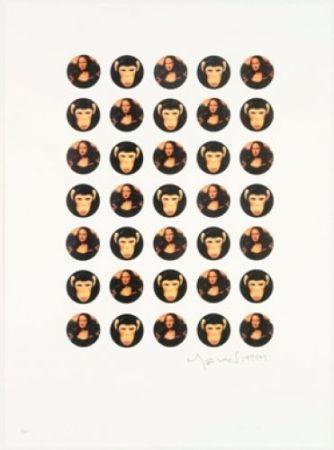 Litografia Leirner - Mona Mona