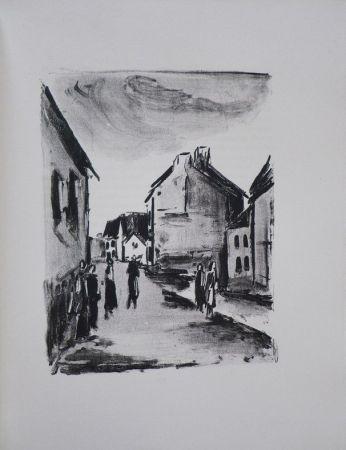 Libro Illustrato Vlaminck - Mont-Cinère.  Lithographies de Vlaminck.